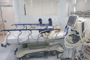 ตัวอย่างผู้ป่วยที่อยู่ในห้องแยกป้องกันเชื้อ