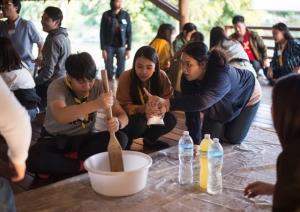 """ทายาทอยู่วิทยารุ่นที่ 3 เดินหน้าโครงการ """"พึ่งตน เพื่อชาติ""""ช่วยคนได้รับผลกระทบโควิด 1 ล้านคน"""