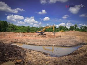 """คืบหน้าโครงการ """"โคก หนอง นา โมเดล"""" ในพื้นที่ฟาร์มตัวอย่างฯ ต้านภัย COVID-19"""