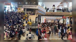 รวมภาพ! คนแห่เดินห้างแน่น คลายล็อกดาวน์ห้างสรรพสินค้าวันแรก