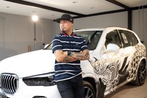 BMW Unbound World of Art Series : ศิลปวัฒนธรรมลุ่มน้ำโขง บน BMW X5 โดย เติ้ล TRK
