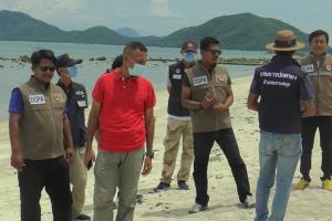 นายอำเภอเกาะสมุยระวังเข้มจุดแม่เต่าทะเลวางไข่ พร้อมติดตั้ง CCTV สังเกตการณ์