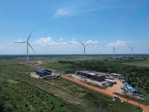 BCPG ปลื้มADB-กสิกรไทยปล่อยเงินกู้โรงไฟฟ้าพลังงานลมลิกอร์