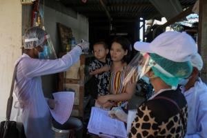 พม่าเจอผู้ป่วยติดเชื้อโควิด-19 เพิ่มอีก 3 ทำยอดสะสมขยับเป็น 187 คน