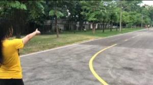 ขึ้นโรงพักมอบตัวแล้ว..ชายวัย 58 ปีลวนลามหญิงสาวออกกำลังกายกลางสนามกีฬาลำพูน