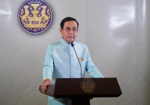 """""""บิ๊กตู่"""" ปัดตอบประเด็นการเมือง ขอแจงแต่ปัญหาการบินไทย"""