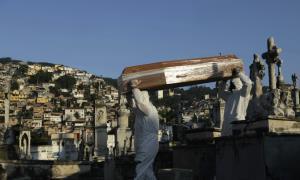 เละตุ้มเป๊ะ! บราซิลติดเชื้อวันเดียว 1.7 หมื่น-ยอดตายทะลุพันเป็นวันแรกตั้งแต่ไวรัสระบาด