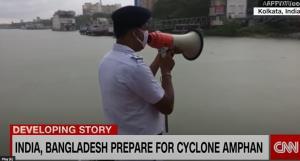 "In Clip:  ""ซูเปอร์ไซโคลนอำพัน"" ชื่อไทยมุ่งหน้าเข้า ""อินเดีย-บังกลาเทศ"" อพยพรวมกว่า 7 ล้าน จากพื้นที่ลุ่มไปอยู่ในที่ปลอดภัย"