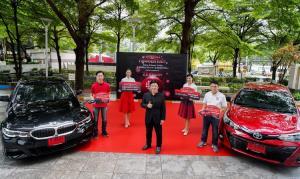 แจกแล้ว รถในฝันสุดหรู กลุ่มทรูมอบโชค BMW 330i M Sport และ Toyota Yaris ลุ้นต่อ Tesla, Mercedes Benz