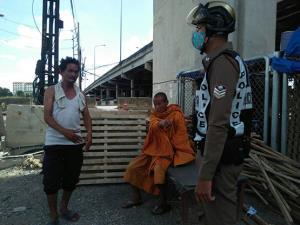 ตำรวจจับสึกชายห่มผ้าเหลืองเมาแล้วกร่างก่อกวนชาวบ้าน