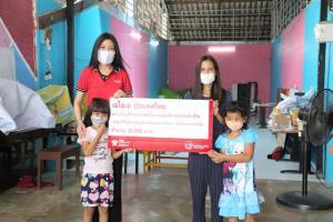 เอไอเอ ประเทศไทย มอบเงินบริจาคจากพนักงานและตัวแทนประกันชีวิตแก่มูลนิธิบูรณะชนบทแห่งประเทศไทยฯ เพื่อโครงการเทใจ