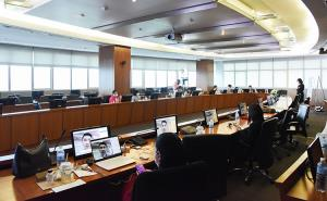 ประชุมวิชาการนานาชาติในรูปแบบ Webinar Conference
