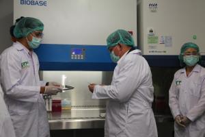 """""""สุวิทย์"""" ลงพื้นที่เตรียมการทดสอบวัคซีนโควิด-19 ที่ศูนย์วิจัยไพรเมท"""