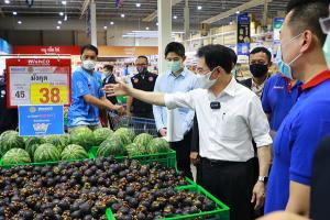 สองรัฐมนตรีพาณิชย์ควงอธิบดีกรมการค้าภายในลุยโคราช ติดตามผลงานพาณิชย์ ลดราคาช่วยประชาชน และประกันรายได้เกษตรกร