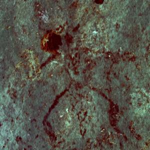 """ล้ำค่า! ศิลปากรที่ 1 ราชบุรี-อช.สามร้อยยอด พบถ้ำภาพเขียนสีแห่งใหม่ที่ """"ถ้ำดิน"""""""