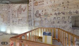 ภายในสุสานของ Kheti (Tomb of Kheti)