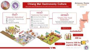 มช.ชงของบปั้นท่องเที่ยวเชิงวัฒนธรรมหลังวิกฤตโควิด ชูอาหารล้านนาดึงคนเที่ยว