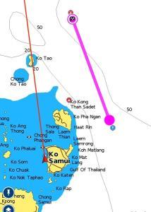 ตำรวจน้ำสมุยเร่งค้นหาหนุ่มลูกเรือขนส่งน้ำมันตกลางทะเล แต่ยังไร้วี่แวว