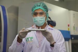 วัคซีนโควิด-19 ในขั้นตอนการทดสอบในลิง