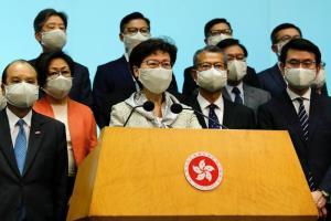 ผู้นำฮ่องกงยัน กม.ใหม่ไม่ลิดรอนเสรีภาพ จีนคำรามพร้อมตอบโต้อเมริกาทุกวิถีทาง