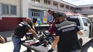 รวบแก๊งลักจักรยานยนต์ถอดชิ้นส่วนขายแลกยาเสพติด