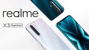 realme ขยับบุกตลาดสมาร์ทโฟนไฮเอนด์ ส่ง X3 SuperZoom กล้องซูม 60 เท่า