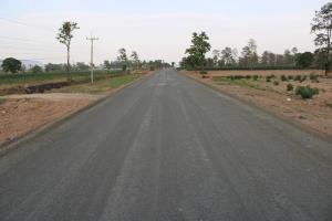 ทช.เร่งราดยางถนนเข้าโครงการพระราชดำริ บ้านทับทิมสยาม 03 จ.สระแก้ว