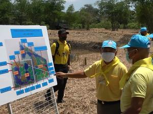 ผู้บัญชาการกองกำลังจิตอาสาพระราชทาน ลงติดตามความก้าวหน้า 3 โครงการฟาร์มตัวอย่างต้านภัยโควิด-19 ที่ปัตตานี