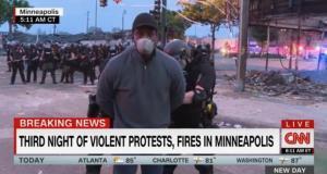 อึ้ง! ตำรวจสหรัฐฯ ต้นแบบ ปชต. รวบ-ใส่กุญแจมือนักข่าวผิวสี CNN ขณะรายงานสดเหตุจลาจล (ชมคลิป)