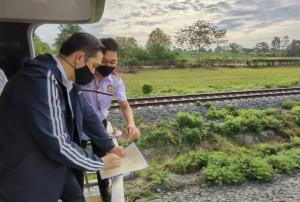 ผู้ว่าการ ร.ฟ.ท.เดินสายประชุมบนโบกี้ วางผังเชื่อมเพื่อนบ้าน ปักหมุด GIS ชี้พิกัดที่รถไฟนำร่องลำปาง