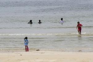หาดทุ่งวัวแล่น จ.ชุมพร คุณภาพน้ำทะเลดีที่สุดในประเทศ พร้อมรับคนมาเยือนแล้ว