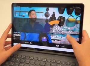 Samsung เปิดเว็บแอปฯ ช่วยค้นหาอาชีพให้เยาวชน