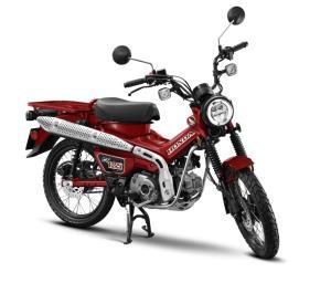 ฮอนด้า เปิดตัว New Honda CT125 ในไทยที่แรกของโลก ราคาเริ่มต้น 84,900 บาท