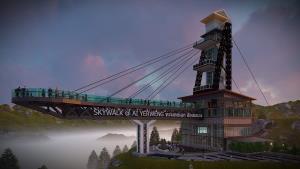 """ปักหมุดรอ """"สกายวอล์คอัยเยอร์เวง"""" แลนด์มาร์คใหม่เมือง """"เบตง"""" สร้างใกล้เสร็จแล้ว"""