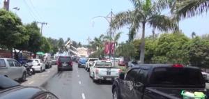 หยุดวันเฉลิมพระชนมพรรษาทำนักท่องเที่ยวทะลักหาดบางแสน รถติดยาวนับกิโลฯ