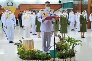 หน่วยบัญชาการสงครามพิเศษทำพิธีถวายพระพรชัยมงคล วันเฉลิมพระชนมพรรษา
