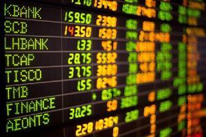 หุ้นไทยปิดพุ่ง 36.83 จุด วอลุ่มทะลุ 1.22 แสนล้านบ. สูงสุดในรอบปีเศษ กลุ่มแบงก์นำตลาด-เงินไหลเข้าหนุน