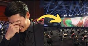 งานประกาศรางวัลของเกาหลีอย่างกับห้องสอบ จัดที่นั่งห่างเป็นเมตร