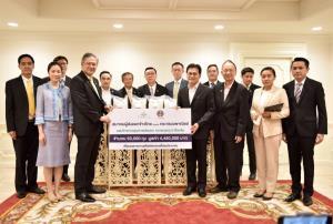 """สมาคมผู้ส่งออกข้าวไทยมอบข้าวสาร 50,000 ถุงให้ """"พาณิชย์"""" นำส่งต่อช่วยประชาชนช่วงโควิด-19"""