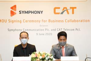 CAT เซ็นดีลใหญ่ SYMPHONY ทำตลาดโครงข่ายทั่วอาเซียน