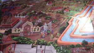 """สุดฮือฮา! วัดบางจาก นนทบุรี วาดรูป """"บิณฑ์-เอกพันธ์"""" ติดผนังโบสถ์"""