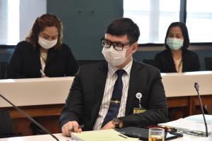 """กมธ.กฎหมาย เชิญทูตไทยในกัมพูชา พร้อมหน่วยเกี่ยวข้องให้ข้อมูล """"วันเฉลิม"""""""