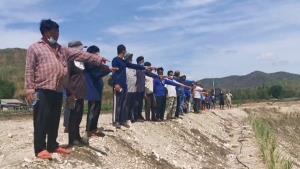 ชาวบ้านวอนหน่วยงานทหารในพื้นลพบุรีระงับการสั่งกลบบ่อที่ชาวบ้านขุดเพื่อเก็บกักน้ำ