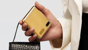 Samsung ส่ง Galaxy Z Filp สีทอง เพิ่มความเป็นเอกลักษณ์