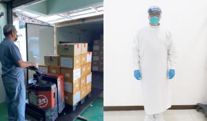 กระจายชุด PPE ใช้ซ้ำ 20 ครั้งให้ รพ.แล้ว 4.1 หมื่นชุด ย้ำเวลาซักห้ามใส่น้ำยาปรับผ้านุ่ม