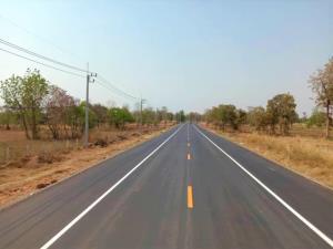 ทช.ขยายถนนสาย นม.1001 จ.นครราชสีมา เชื่อมถนนมิตรภาพ กับ อ.บัวลาย,บัวใหญ่ สนับสนุนรถไฟทางคู่ คาดแล้วเสร็จต้นปี 2564