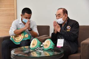 อัจฉริยะ ได้โอกาสป้องแชมป์ WBC Asia