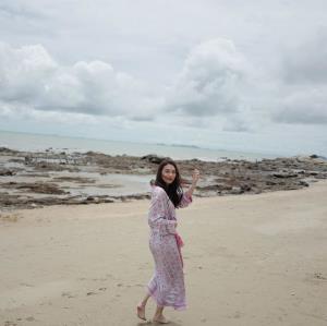ชายหาดพัทยายามเช้า (IG : mewnittha)