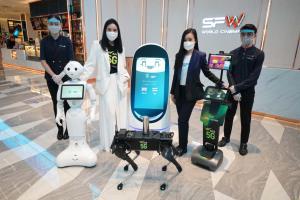 AIS - SF นำหุ่นยนต์ 5G ดูแลลูกค้า