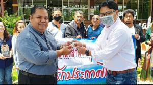 """""""แรมโบ้"""" ดัน """"อานนท์"""" ช่วยเกษตรกรภาคตะวันตก เดินหน้านโยบายรวมไทยสร้างชาติ"""